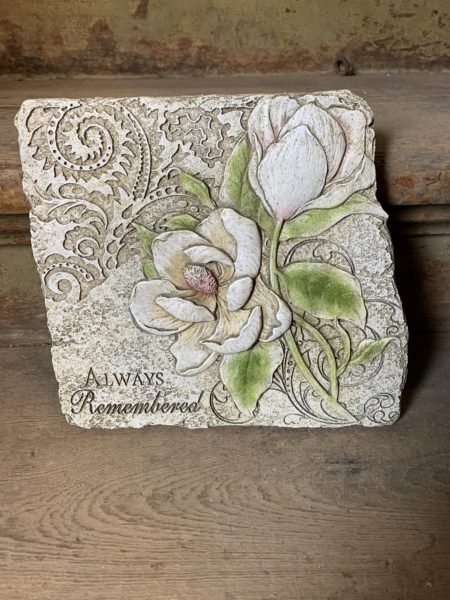 """""""Always Remembered"""" Magnolia Stepping Stone"""