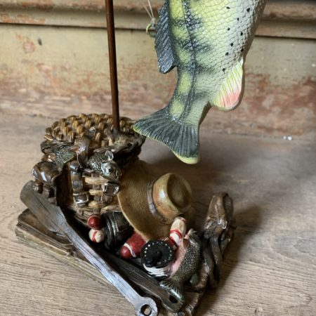 Lets Go Fishing Statue